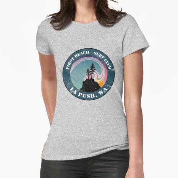 First Beach Surf Club Fitted T-Shirt