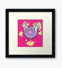 Gas? Is it Gas? It's Gas, Isn't It. Framed Print
