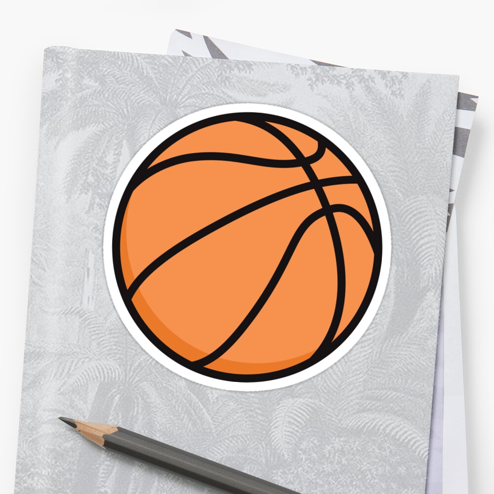 Basketball sticker and wall clock by Mhea