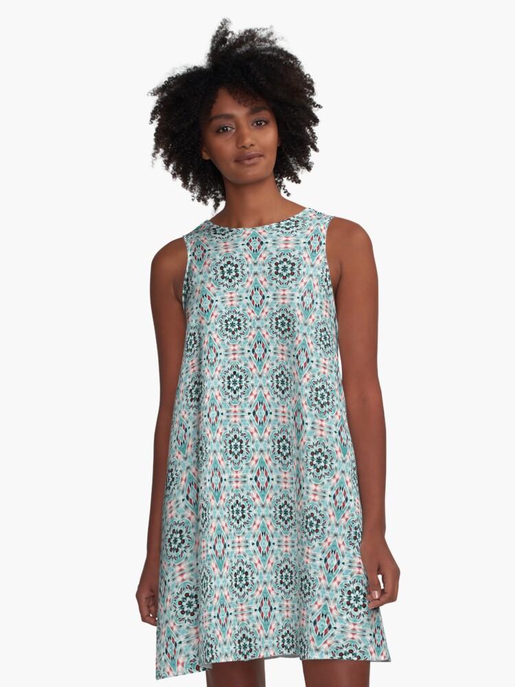 Zara A-Line Dress Front