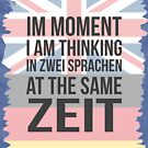 Thinking in Zwei (Brit Version) by stoopiditees