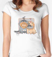Onesies Tailliertes Rundhals-Shirt