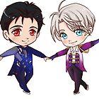 Yuri on Ice: Yuri and Viktor by phadmeart