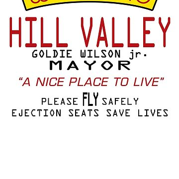Welcome To Hill Valley (Future) by Gingerbredmanny