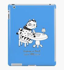 Time Before Email (Blue) iPad Case/Skin