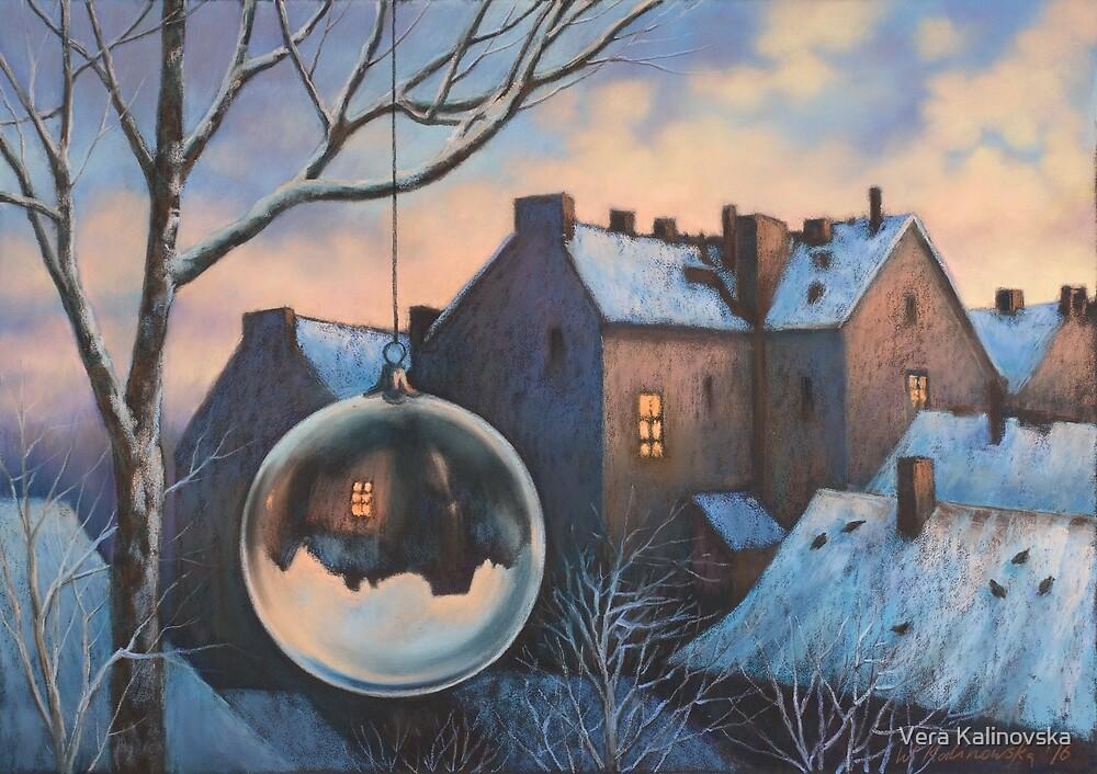 Morning of New Year by Vira Kalinovska