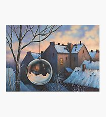 Morning of New Year Photographic Print