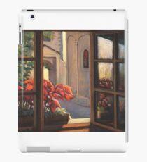Window with flowers iPad Case/Skin