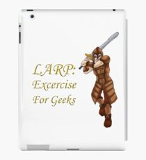 LARP: Exercise for Geeks iPad Case/Skin