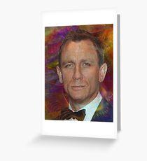 Bond, James Bond 6 - By John Robert Beck Greeting Card