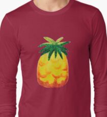 Sparkly Pineapple Long Sleeve T-Shirt