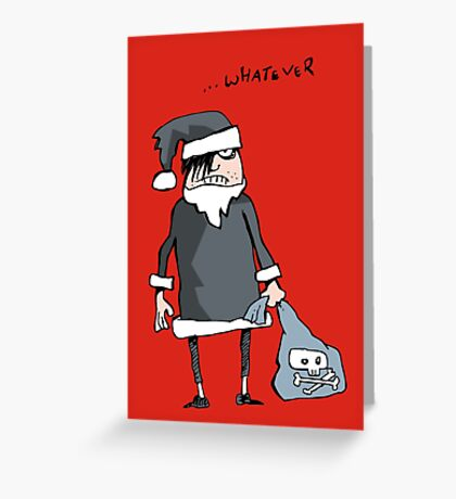 emo xmas Greeting Card