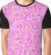 Antique Texture Lilac Graphic T-Shirt