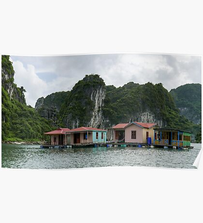 Floating Houses. Poster
