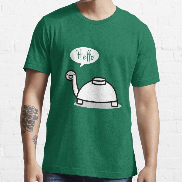 La tortuga se detiene para decir hola Camiseta esencial