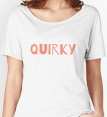Quirky Women's Relaxed Fit T-Shirt