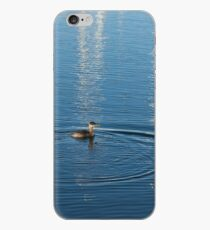Ripples and Circles – Red-Necked Grebe iPhone Case