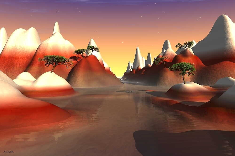 Red Mountain Waters by stahlworks