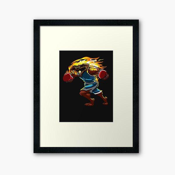 A Balrog cosplays as Balrog Framed Art Print