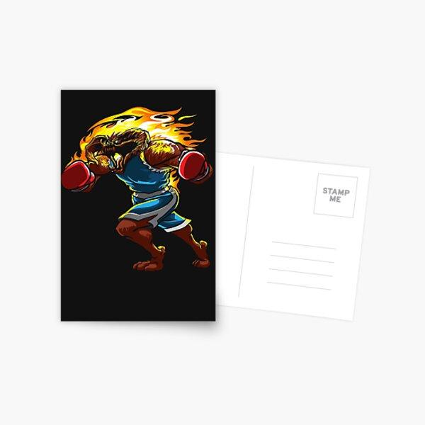 A Balrog cosplays as Balrog Postcard
