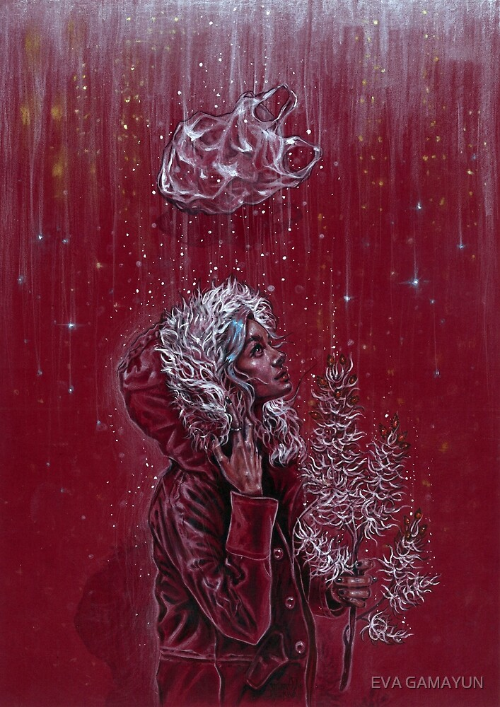 Red Christmas by tanyashatseva