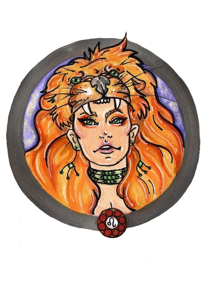 Leo by Moonstone Illustration