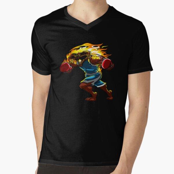 A Balrog cosplays as Balrog V-Neck T-Shirt