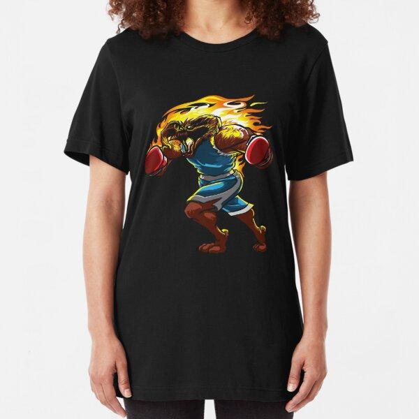 A Balrog cosplays as Balrog Slim Fit T-Shirt