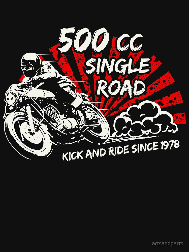 Single Road 500 by artsandparts