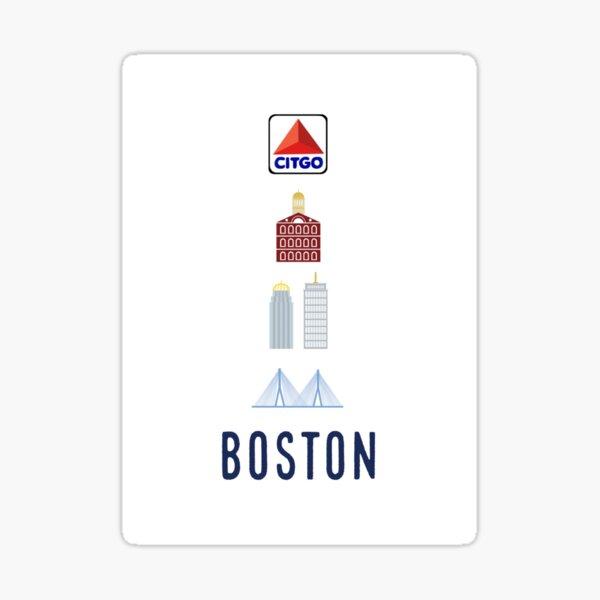 Boston Landmarks Sticker