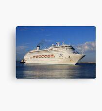 Pacific Jewel cruise ship Canvas Print