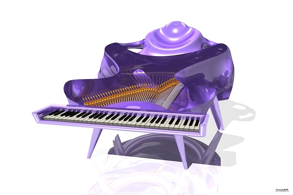 Manta Piano by stahlworks