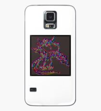 Psychedelic Draco the Dragon Case/Skin for Samsung Galaxy