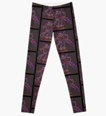 Psychedelic Draco the Dragon Leggings