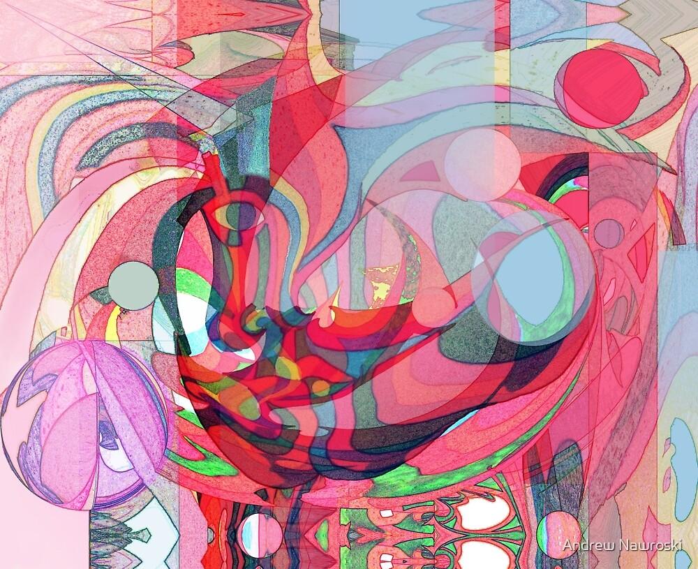 Take on Futurist Work in Progress. by Andrew Nawroski