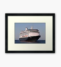 Cruise ship 6: Volendam Framed Print