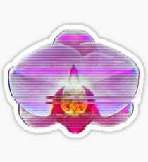 VHS Orchid Sticker