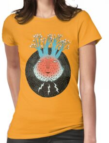 Cosmic Epiphany Heart Womens Fitted T-Shirt