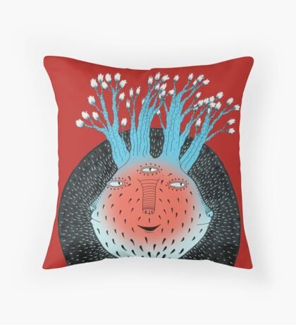 Cosmic Epiphany Heart Throw Pillow