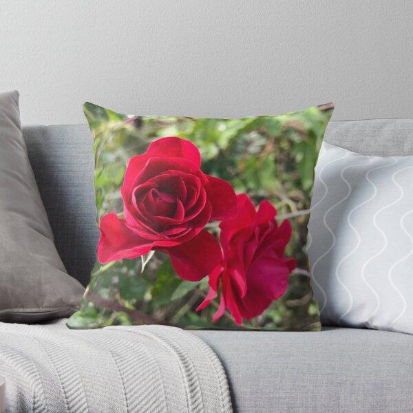 Field rose  Throw Pillow