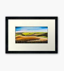Konza Prairie Framed Print