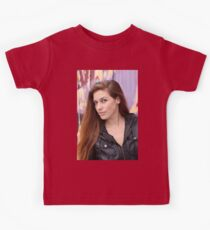 Portrait of a young woman Kids Tee