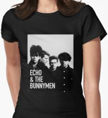 Echo & The Bunnymen Exclusive Image Women's Fitted T-Shirt