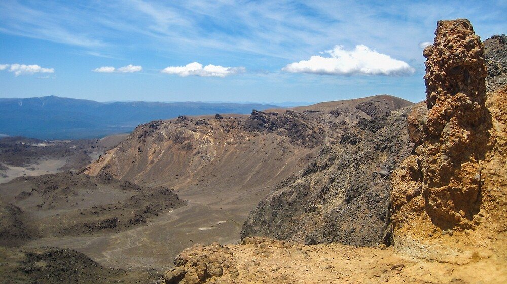 Top of Tongariro by plumserendipity