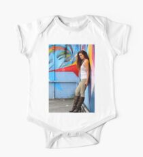 Young Woman One Piece - Short Sleeve
