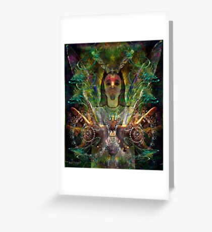 Color in Your Hands - the Luminarian (Art & Poetry) Greeting Card