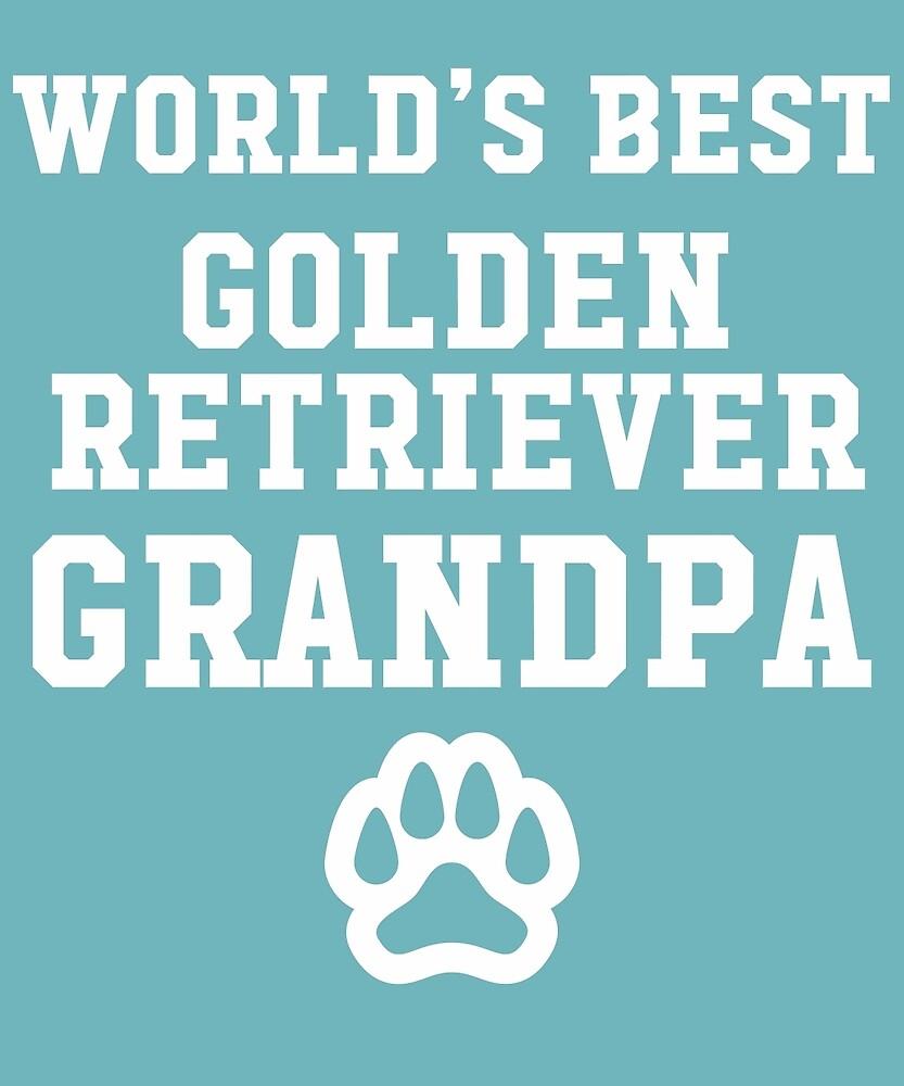 World's Best Golden Retriever Grandpa by AlwaysAwesome
