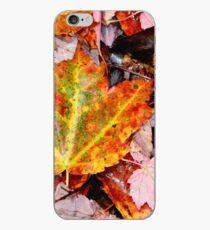 Leaf Litter III iPhone Case