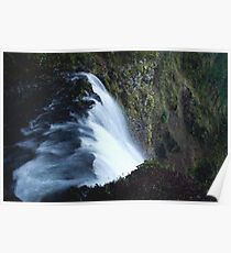 Waterfall PixelArt Poster