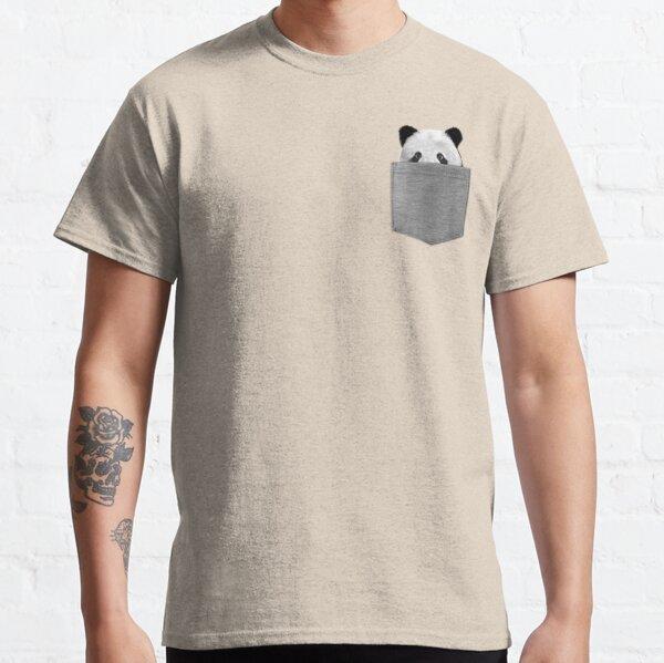 Panda dans votre poche T-shirt classique